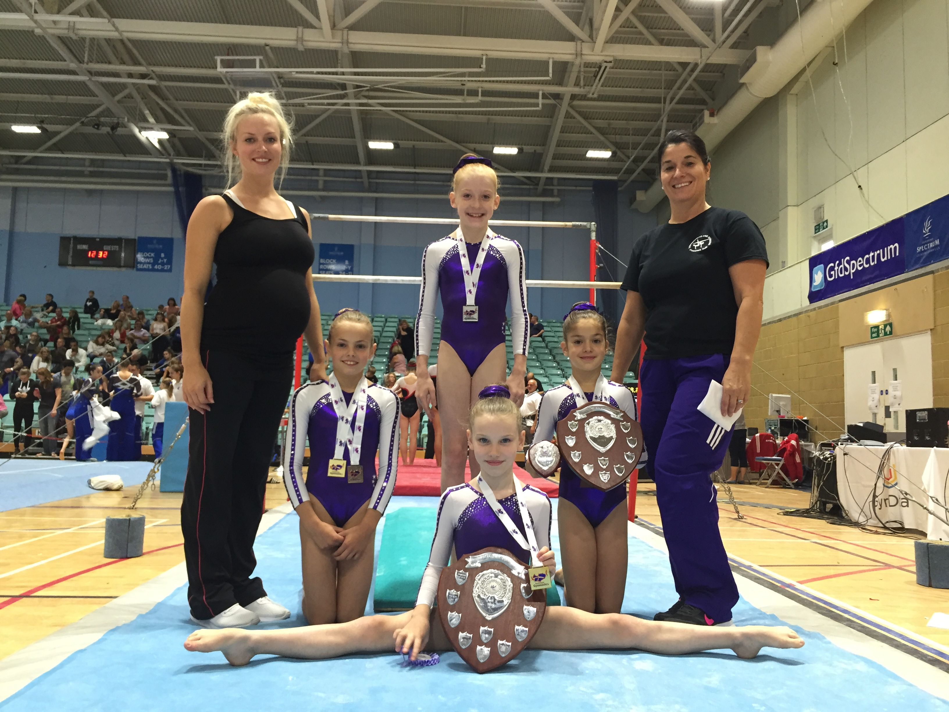 2844baa546c5 ... recognised the achievement of the gymnasts but the hard work of coaches  Sadie Herbert ,Alicia Mayhew, Katy Lennon , Katherine Would and Natalie  Davies.