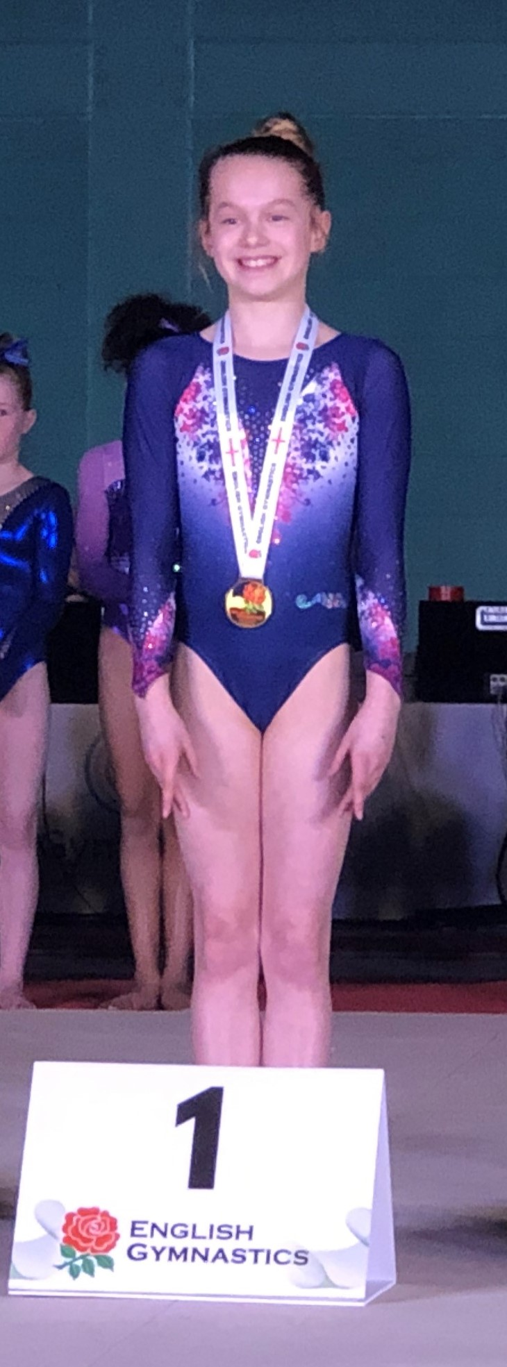 Maddy Dodd English Beam Espoir Champion