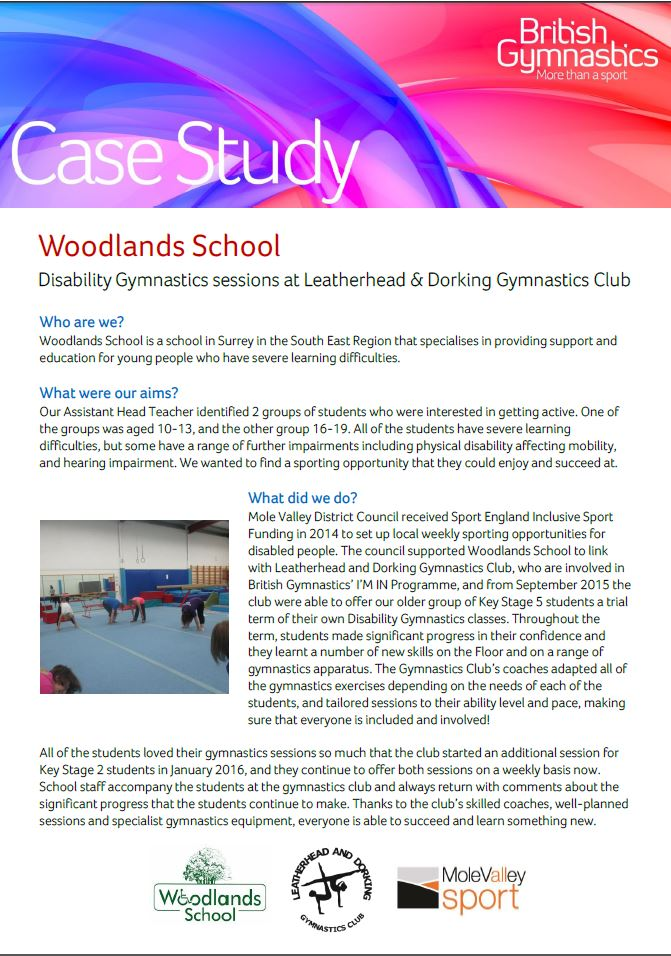 case study student with learning disability
